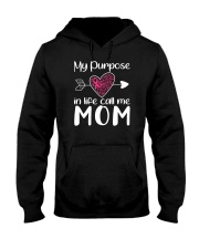 My purpose call me Mom Hooded Sweatshirt thumbnail