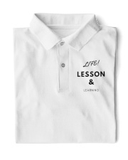 Life Lesson and Learning Classic Polo front