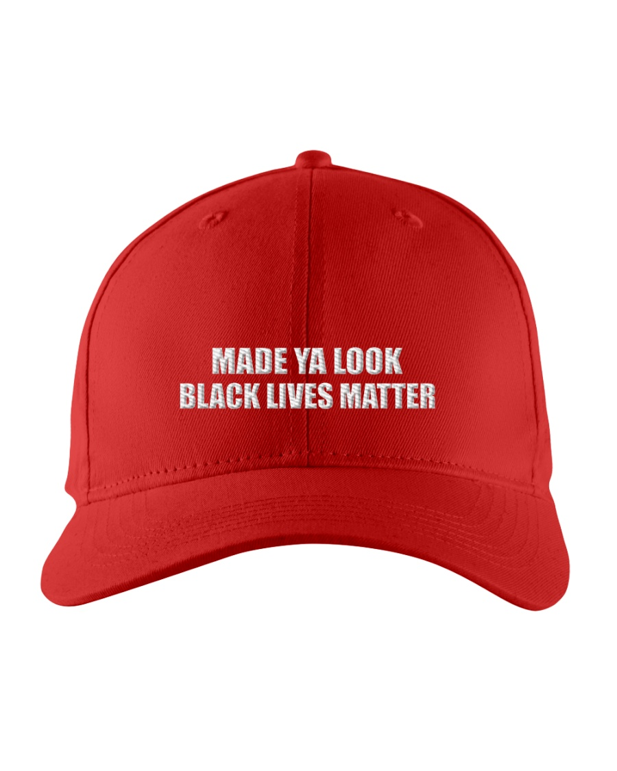 MADE YA LOOK BLM Embroidered Hat