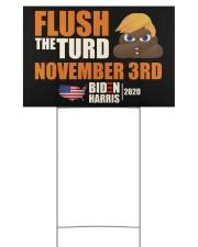 November 3rd 18x12 Yard Sign back