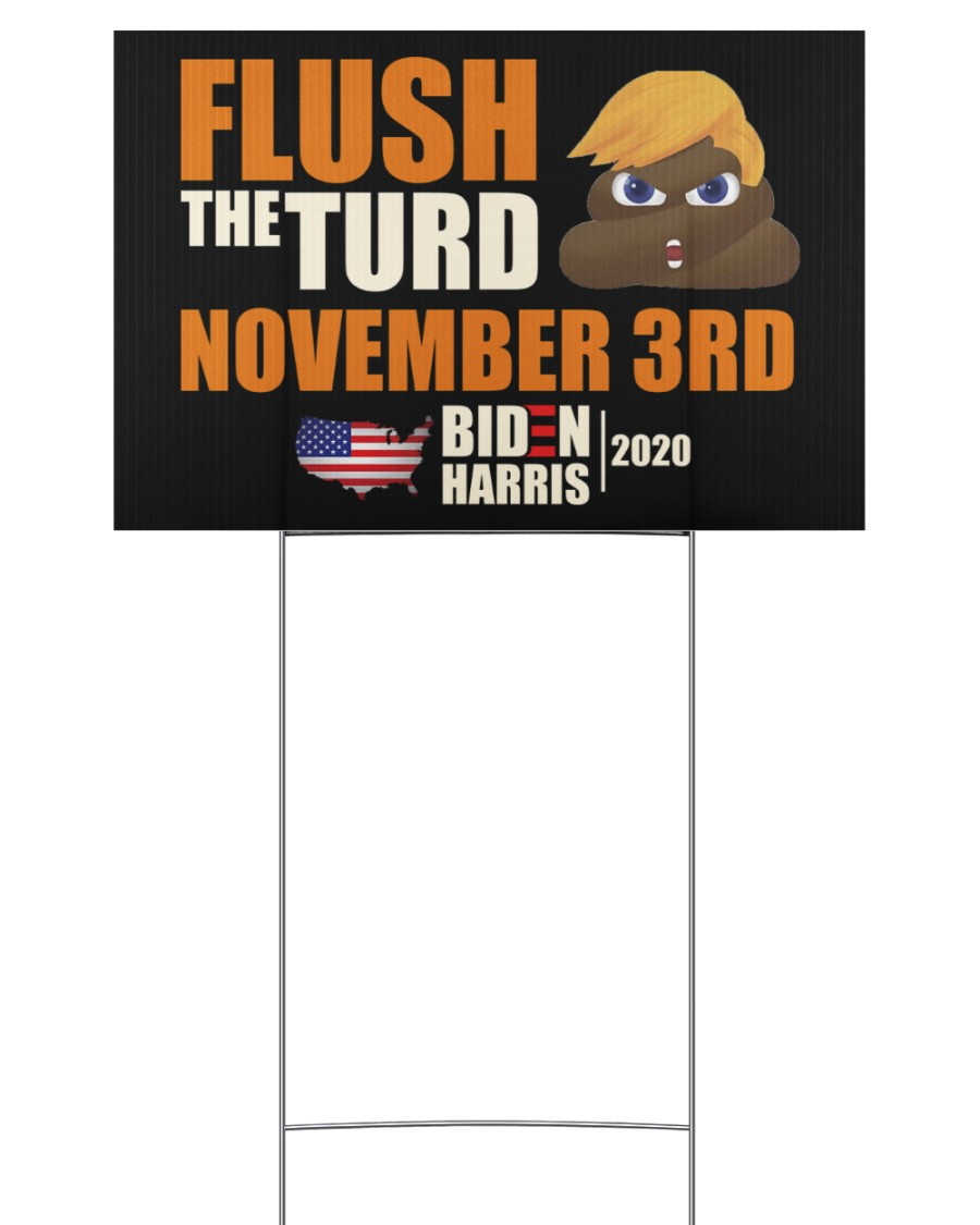 November 3rd 18x12 Yard Sign