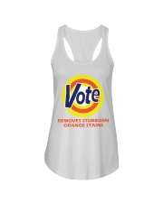 REMOVES STOBBORN ORANGE STAINS Ladies Flowy Tank thumbnail