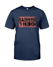 Barred in DC Official Merchandise Classic T-Shirt front