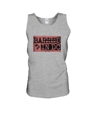 Barred in DC Official Merchandise Unisex Tank thumbnail