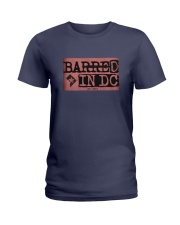 Barred in DC Official Merchandise Ladies T-Shirt thumbnail