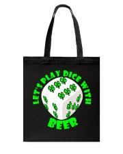 Irish Dice Tote Bag thumbnail