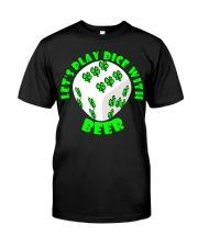 Irish Dice Classic T-Shirt front