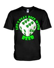 Irish Dice V-Neck T-Shirt thumbnail