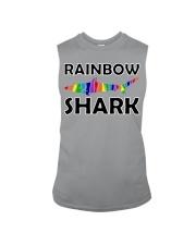 Rainbow Shark Sleeveless Tee front