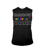 Rainbow Shark Sleeveless Tee thumbnail
