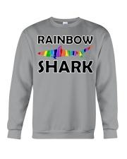 Rainbow Shark Crewneck Sweatshirt thumbnail