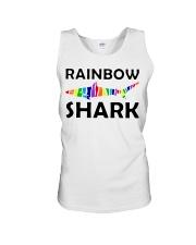 Rainbow Shark Unisex Tank thumbnail