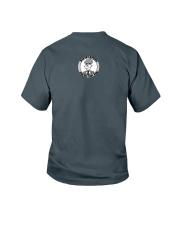 Rainbow Shark Youth T-Shirt back