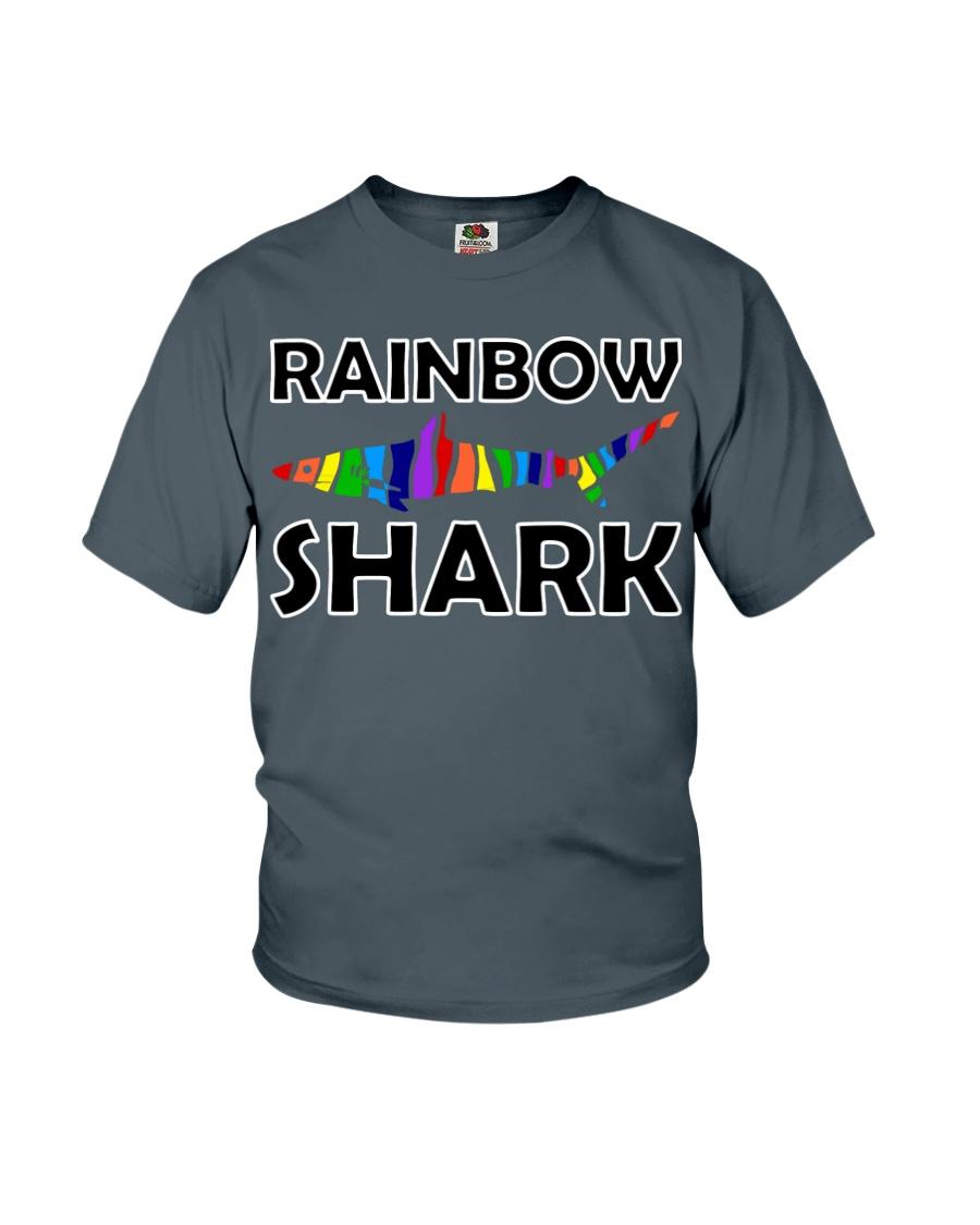 Rainbow Shark Youth T-Shirt
