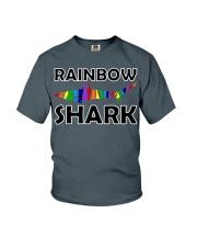 Rainbow Shark Youth T-Shirt front
