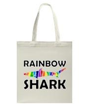 Rainbow Shark Tote Bag thumbnail