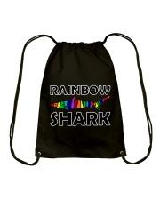 Rainbow Shark Drawstring Bag thumbnail