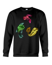 Colors Trio Fish Crewneck Sweatshirt tile