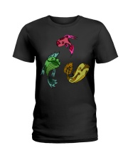 Colors Trio Fish Ladies T-Shirt thumbnail