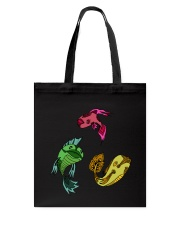 Colors Trio Fish Tote Bag tile