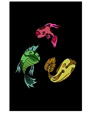 Colors Trio Fish Vertical Poster tile
