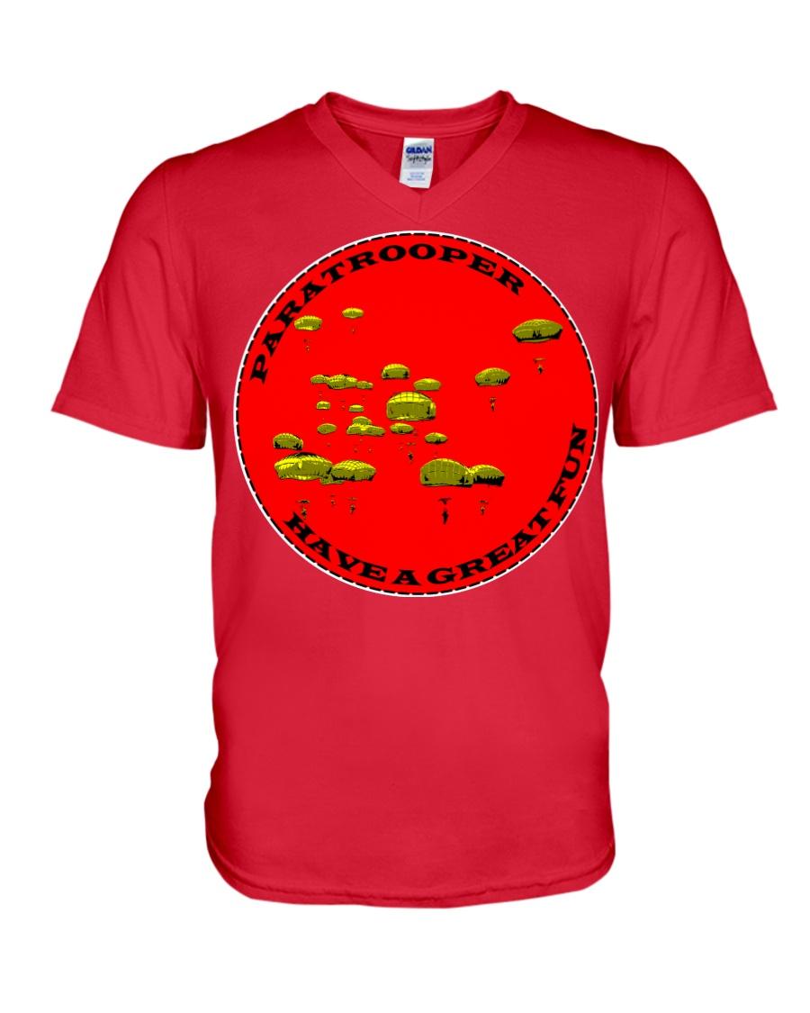 Paratrooper V-Neck T-Shirt