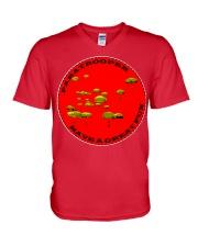Paratrooper V-Neck T-Shirt front