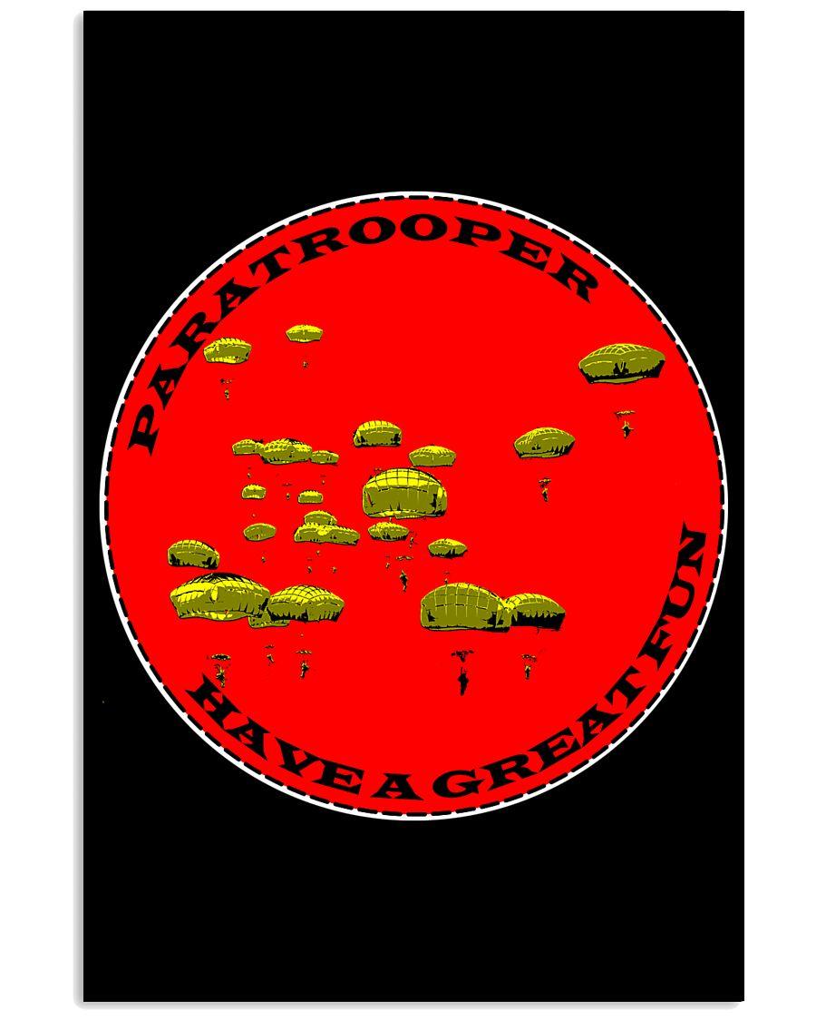 Paratrooper 11x17 Poster