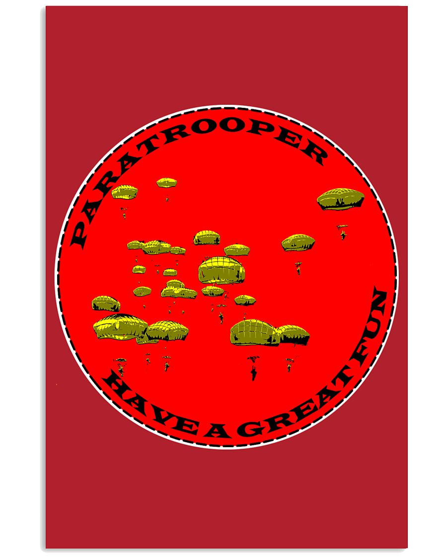 Paratrooper 16x24 Poster