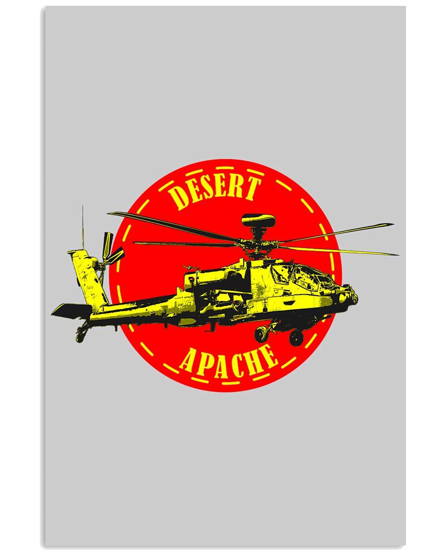 Desert Apache 16x24 Poster