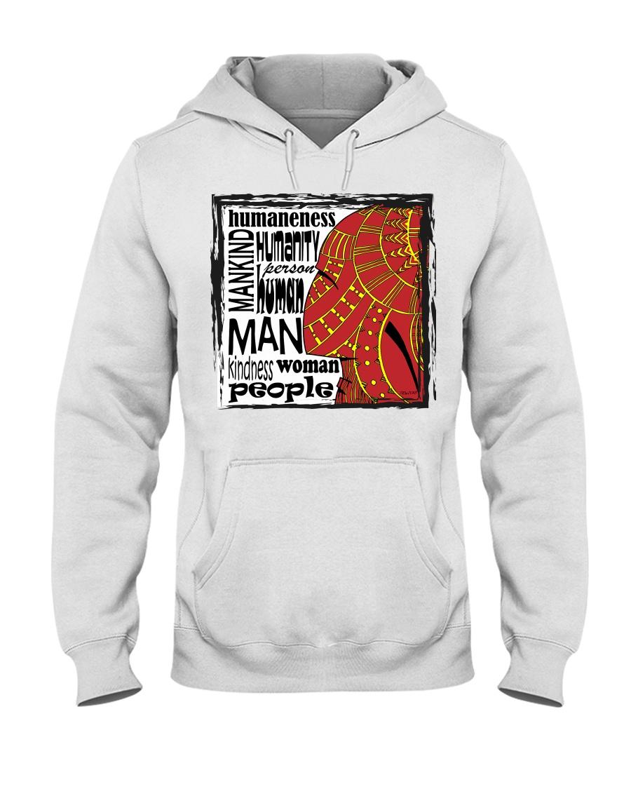 Human Hooded Sweatshirt