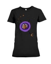 Astronaut travel Premium Fit Ladies Tee thumbnail