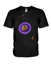 Astronaut travel V-Neck T-Shirt thumbnail