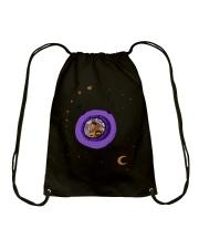 Astronaut travel Drawstring Bag thumbnail