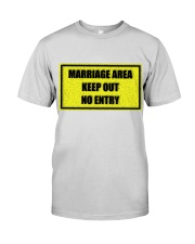 Marriage Area Premium Fit Mens Tee front