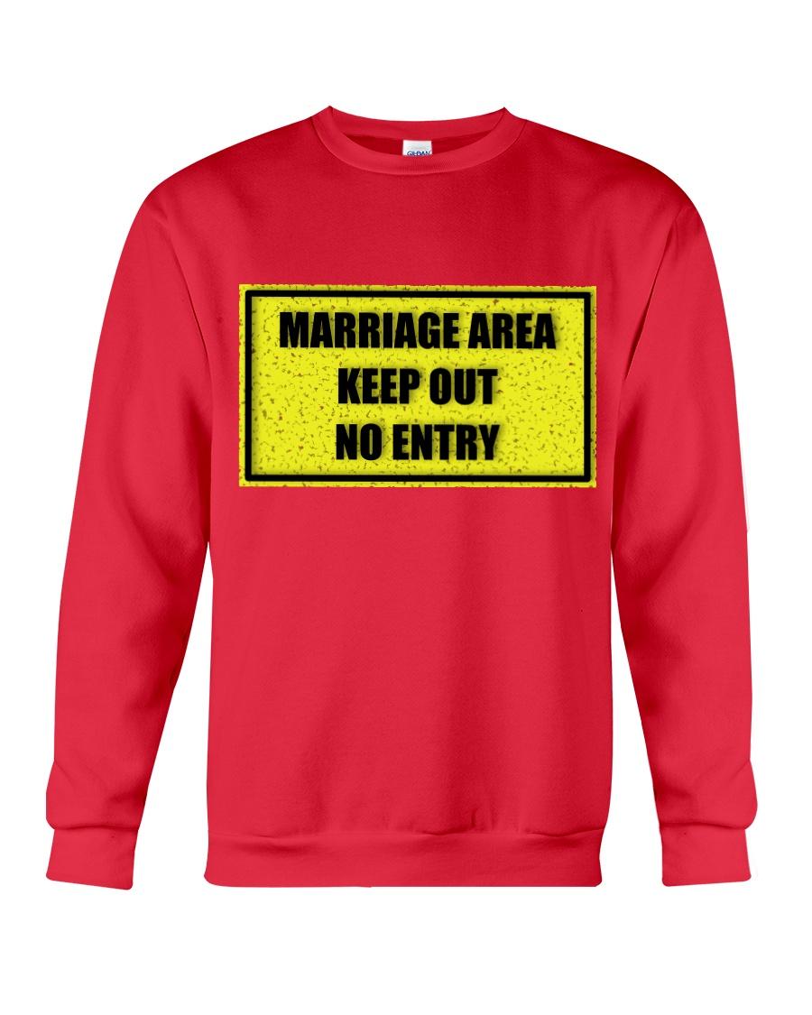 Marriage Area Crewneck Sweatshirt showcase