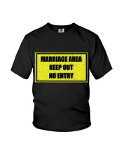 Marriage Area Youth T-Shirt thumbnail