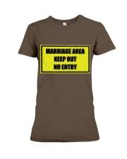 Marriage Area Premium Fit Ladies Tee front