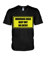 Marriage Area V-Neck T-Shirt thumbnail