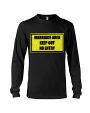 Marriage Area Long Sleeve Tee thumbnail