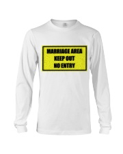 Marriage Area Long Sleeve Tee front