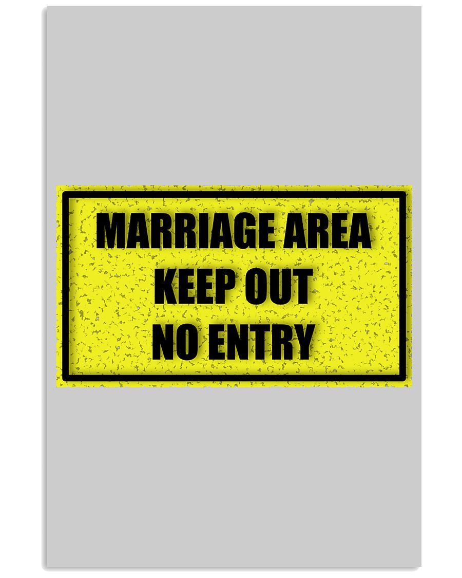 Marriage Area 11x17 Poster