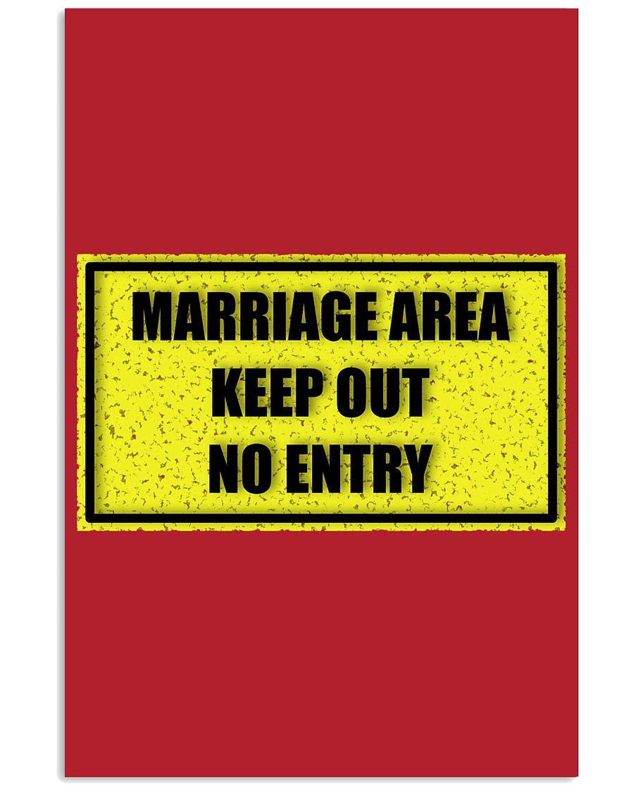 Marriage Area 16x24 Poster showcase