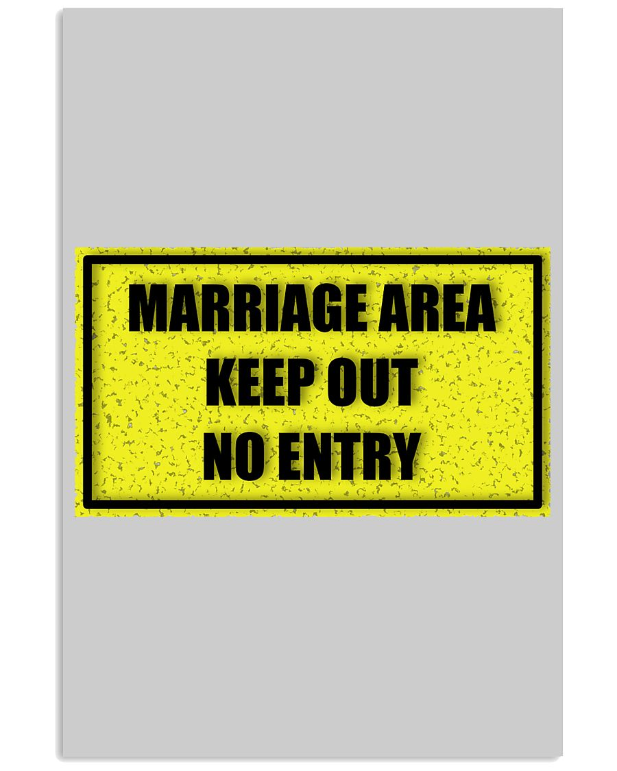 Marriage Area 24x36 Poster