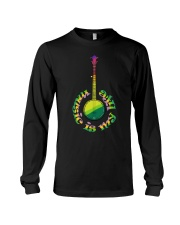 Guitar Music Life Long Sleeve Tee thumbnail