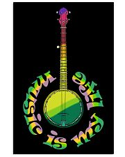 Guitar Music Life Vertical Poster tile