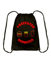 Anorexia Drawstring Bag front
