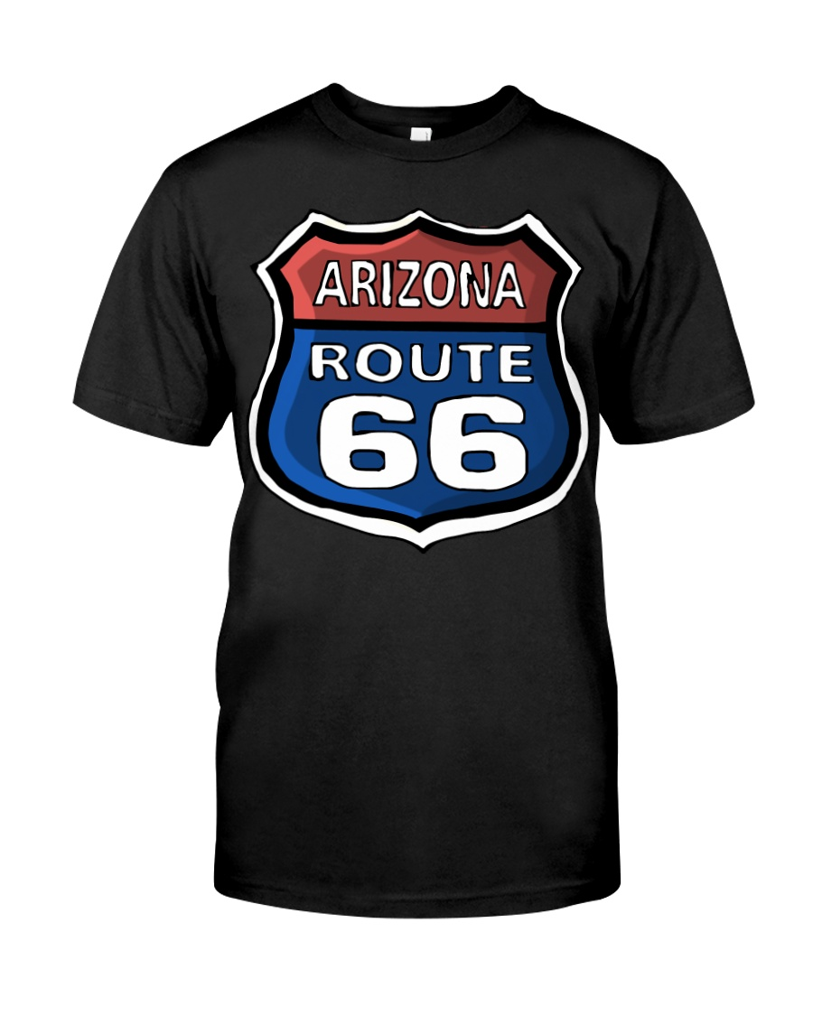 Route 66 Arizona Classic T-Shirt