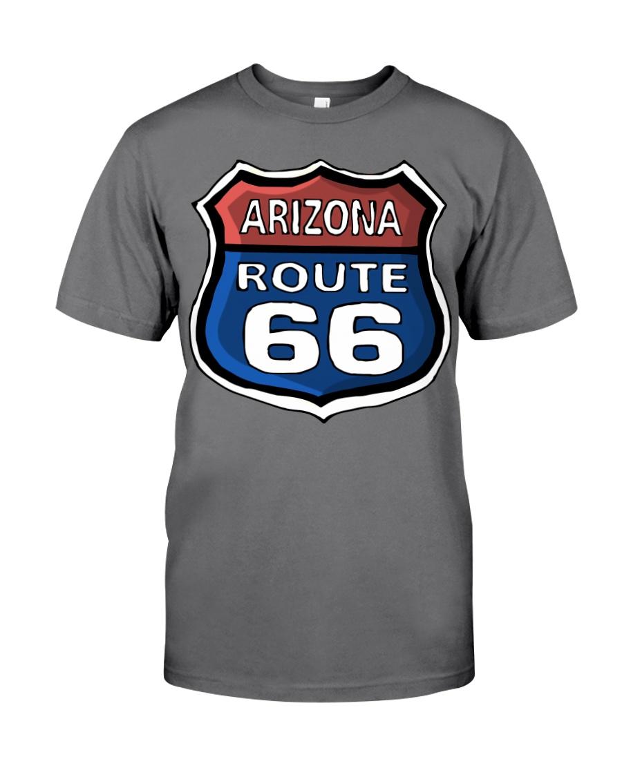 Route 66 Arizona Premium Fit Mens Tee showcase