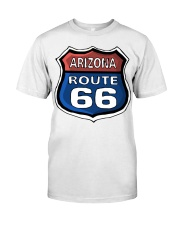 Route 66 Arizona Premium Fit Mens Tee tile